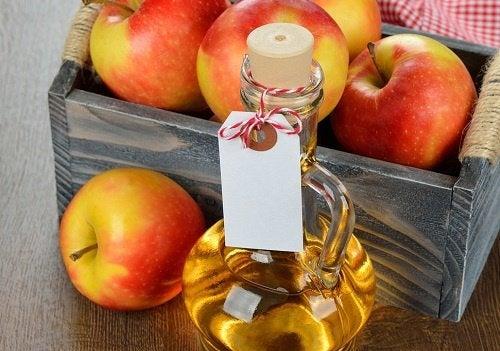 O vinagre de maçã afasta as moscas