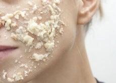 Máscara para combater a acne
