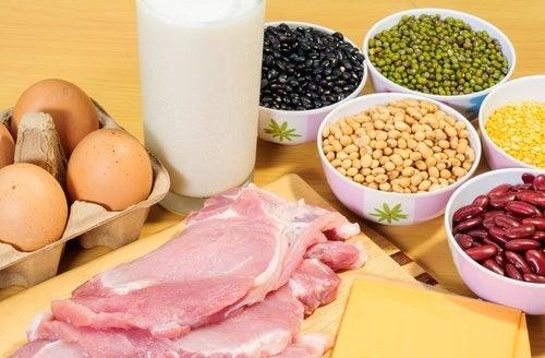 Alimentos com proteínas que ajudam a combater a flacidez