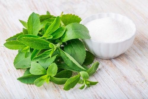 Stevia para controlar níveis de açúcar no sangue
