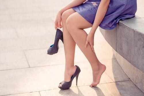Vaizes nas pernas
