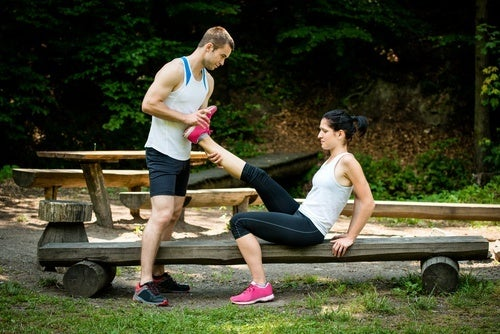 Alongamento para acabar com as câimbras musculares