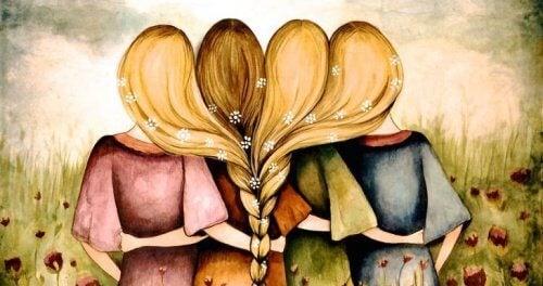 Os amigos beneficiam seriamente a saúde