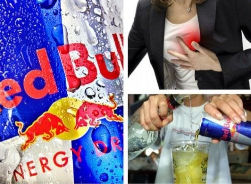 Consequências do consumo de Redbull e outras bebidas energéticas