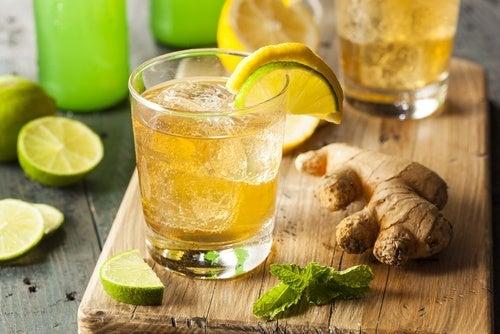 Limão e gengibre: aliados contra a enxaqueca