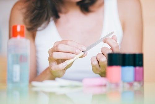 Lixas de unhas não devemos compartilhar