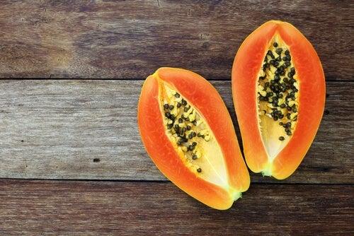 Dieta com Mamão papaia para Doença de Crohn