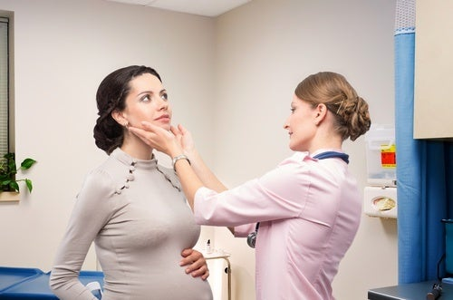 mulheres grávidas com câncer na tireoide