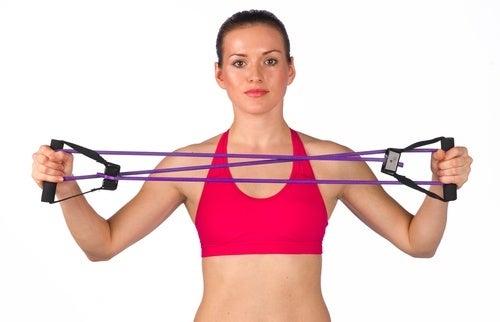 rotação externa para os ombros