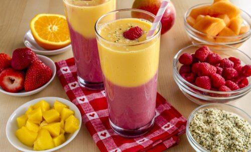 6 vitaminas e sucos rejuvenescedores