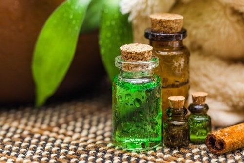 Desodorante de óleo de árvore do chá