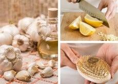 Óleo de alho para combater a queda de cabelo