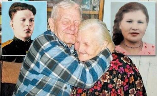 Um amor que voltou a se encontrar após 60 anos