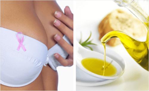 O azeite de oliva pode nos proteger do câncer de mama