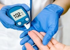Níveis de glicose no sangue