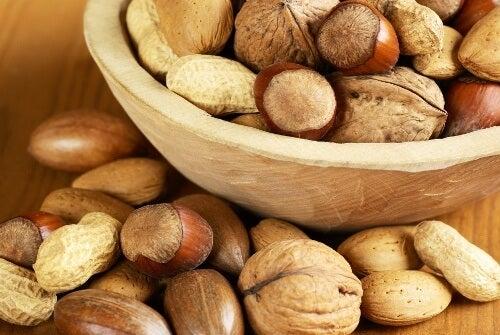 Os 5 melhores frutos secos