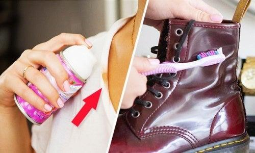 truques para conservar suas roupas e sapatos