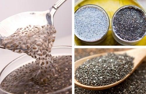 As sementes de chia, um remédio natural contra a prisão de ventre