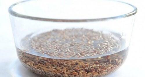 Como preparar a água da linhaça?
