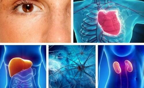 10 partes do corpo que são afetadas pelo estresse