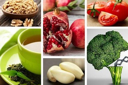 Alimentos que a ajudam a prevenir o câncer