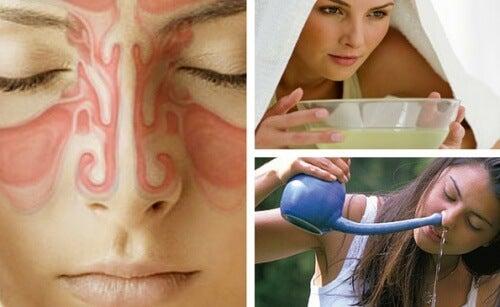 9 remédios caseiros para aliviar a sinusite