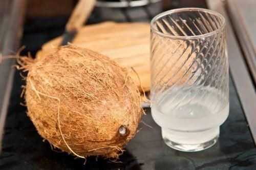 O que acontece com o corpo quando você toma água de coco