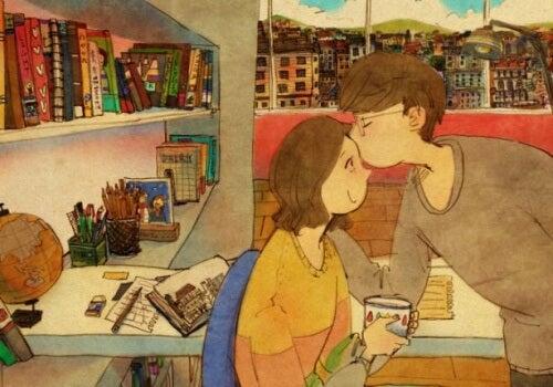 O amor está nos pequenos detalhes