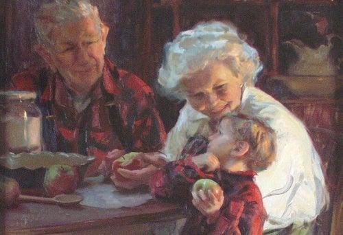 Pesquisa científica aponta: cuidar dos netos ajuda a prevenir a demência