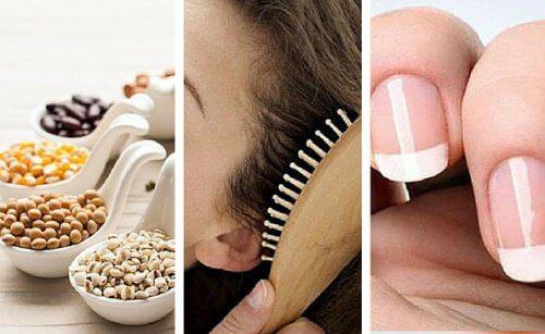 Os 9 alimentos para ter cabelos e unhas mais fortes