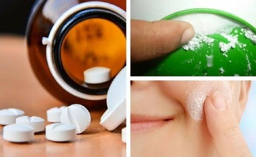 Aspirina como tratamento de beleza