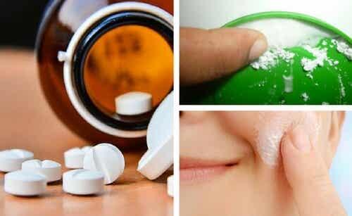 Os segredos da aspirina para embelezar a pele do rosto