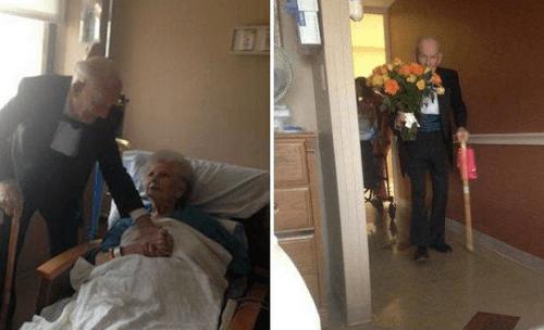 O verdadeiro amor não morre, mesmo após 57 anos de casamento
