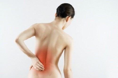 as dores nas costas