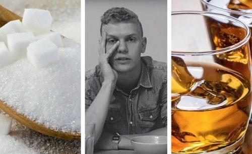 O que acontece ao deixar de ingerir açúcar e álcool