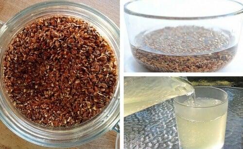 Fantásticos usos da água de linhaça para a saúde, cabelo e pele
