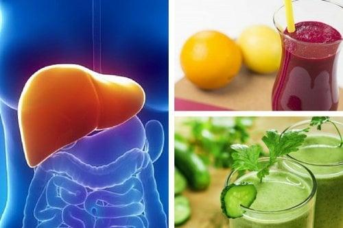 Conheça 3 sucos para nutrir e depurar o fígado