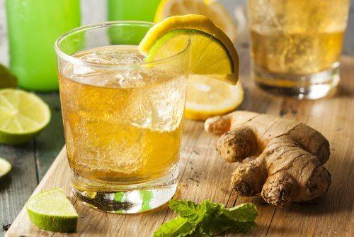 Suco de gengibre para baixar o colesterol