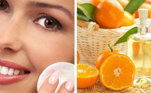 Como preparar uma loção de laranja para fechar poros dilatados