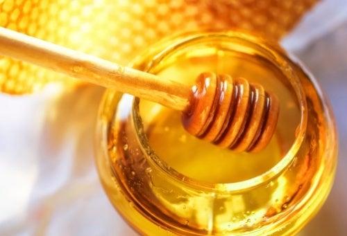 xarope natural usando mel