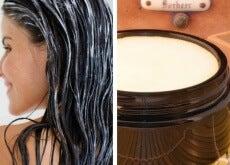 Pomada revitalizadora para o cabelo, baixa em gordura e livre de tóxicos