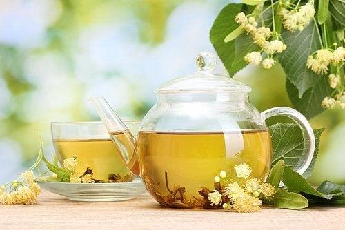 Chá de tilia para diminuir a ansiedade e o nervosismo