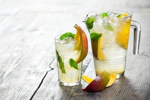 sucos que podem substituir água