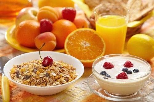 Café da manhã anticelulite