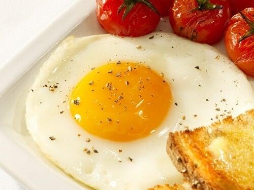 Ovos para combater a anemia
