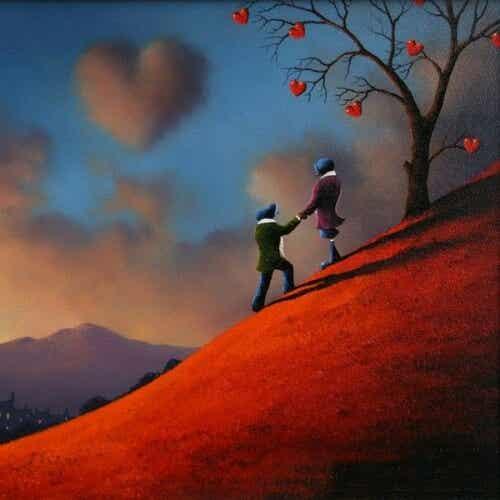 Não basta amar, é preciso demonstrar o amor