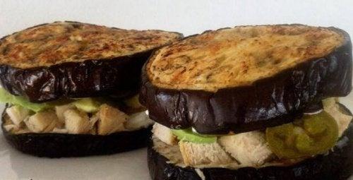 6 maravilhosas ideias de sanduíche sem pão que você vai adorar