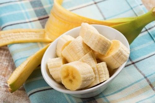 Banana sem congelar