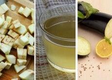 Água de berinjela e limão para reduzir o colesterol