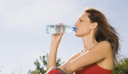 A hidratação é muito importante